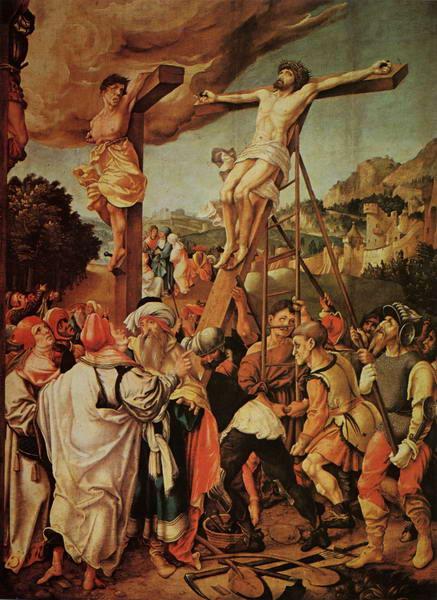 40 Р06 Йорг Брей Воздвижение креста 1524