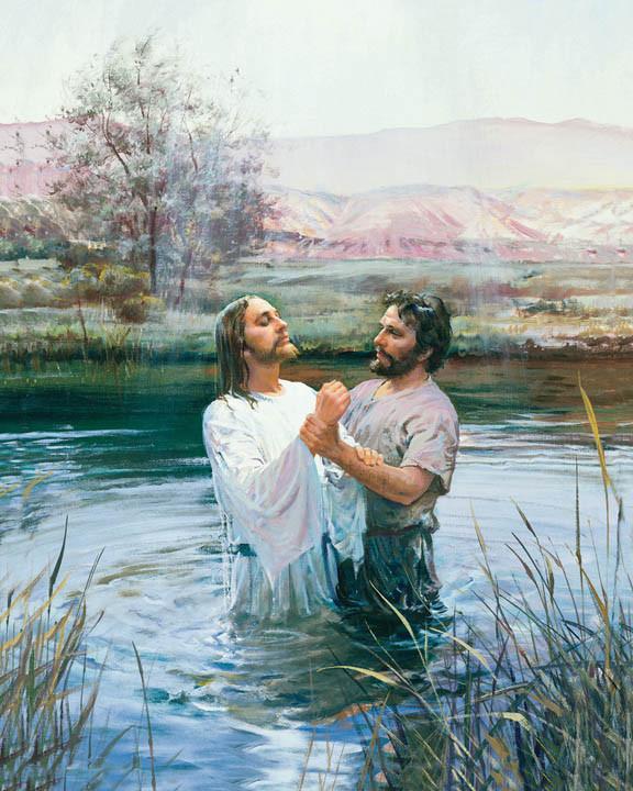 Крещение в реке 02