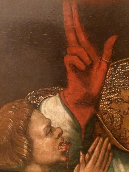 Кровь с перчаток 2