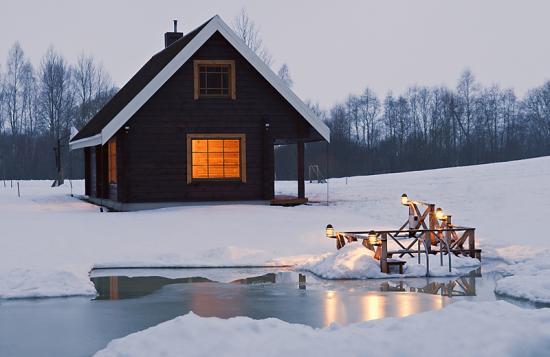 Детские картинки бани зимой