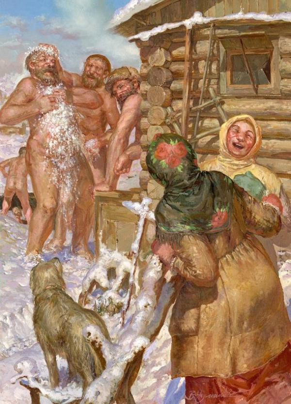фото бабы в бани русские