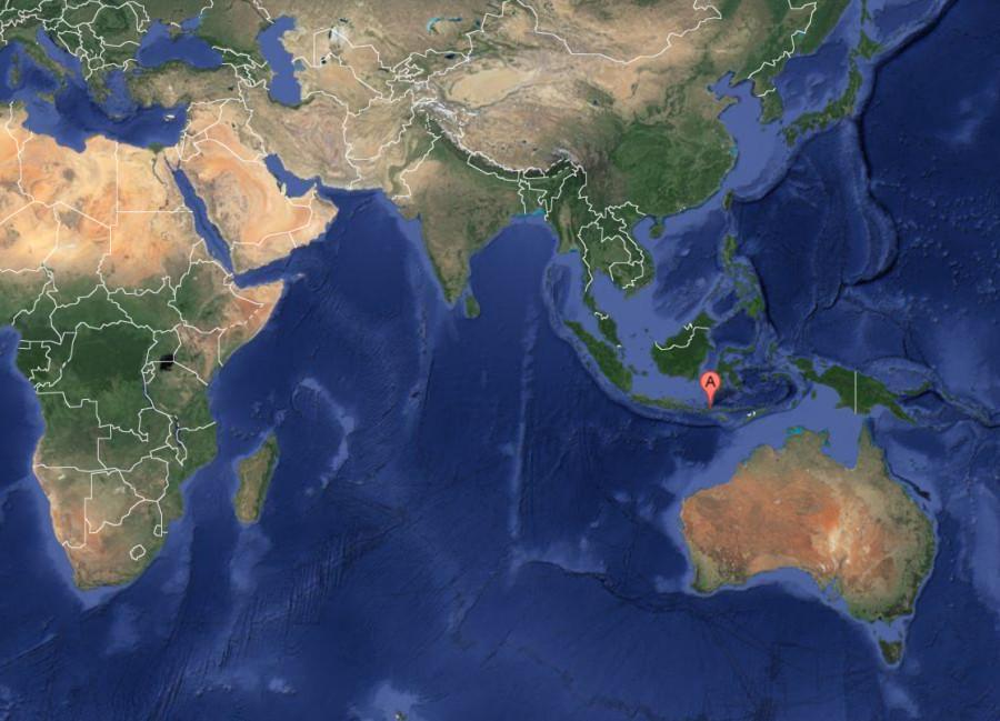 Тамбора карта