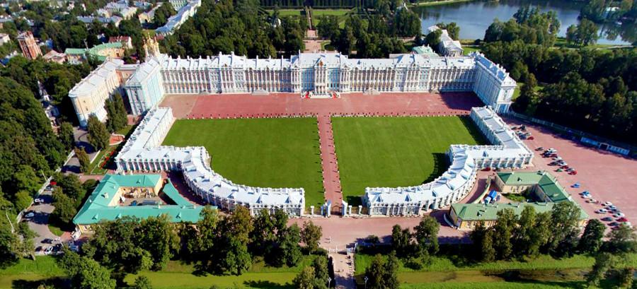 Екатерининский дворец 02 план