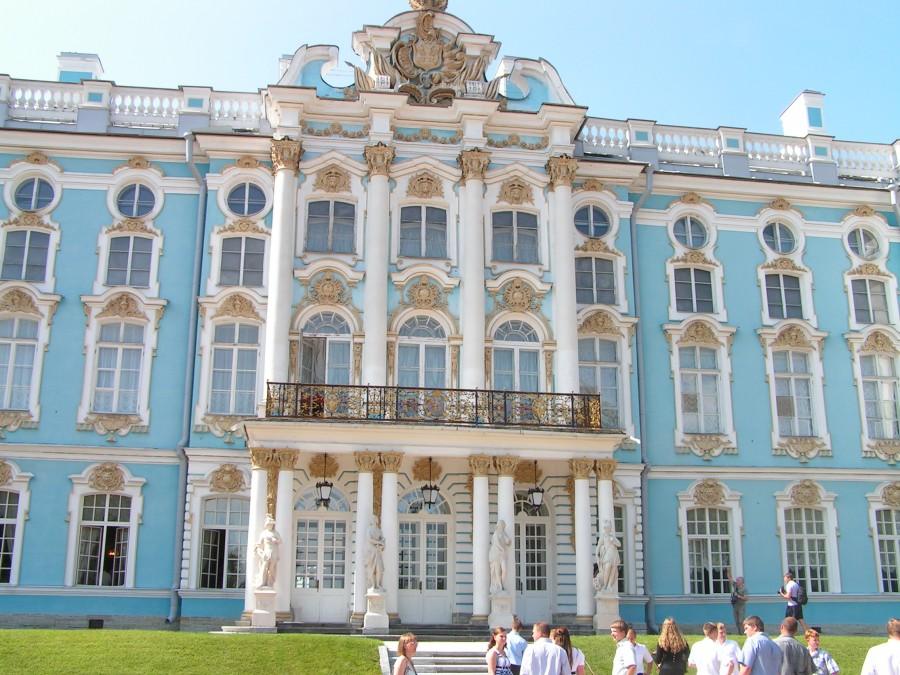 Екатерининский дворец фасад 02