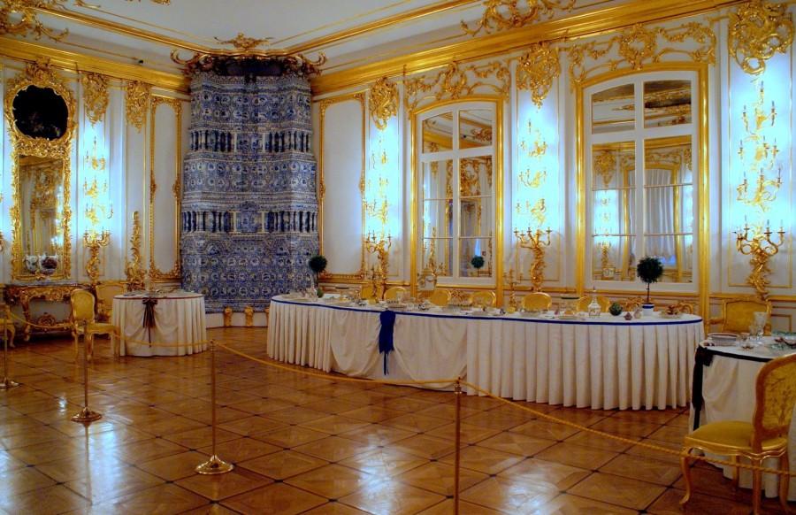 Екатерининский дворец кавалерская столовая