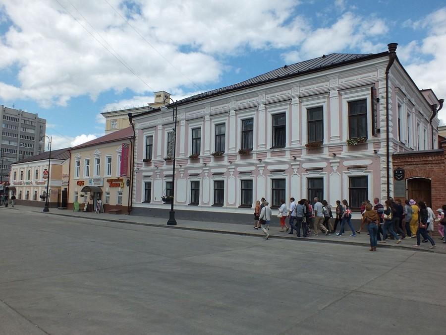 12-7 Казань Татарская слобода дома 19 век
