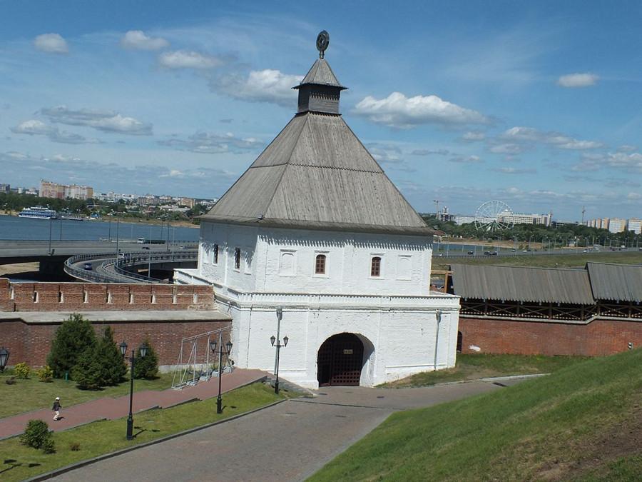 14-2 Казань кремль Тайницкая башня