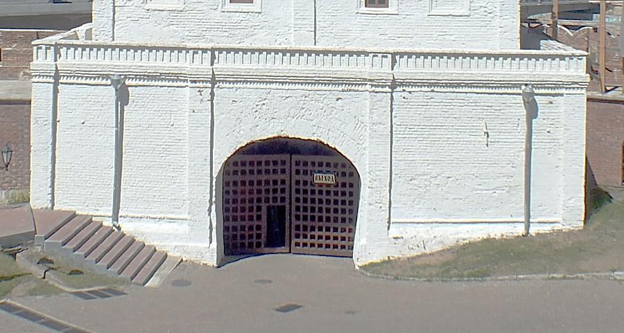 14-4 Казань кремль Тайницкая башня ворота