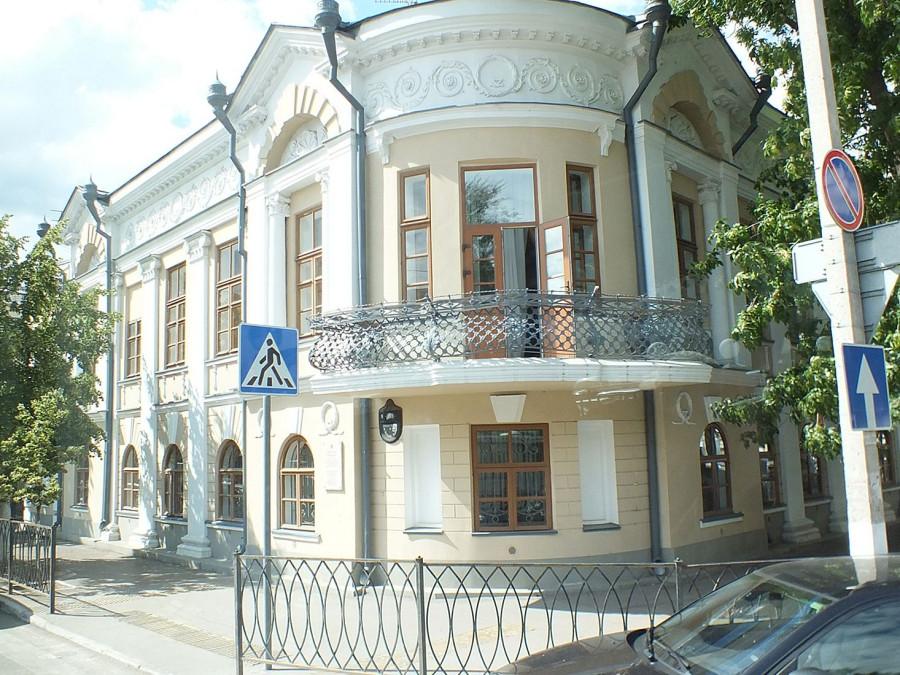 15 Казань центр города старый дом