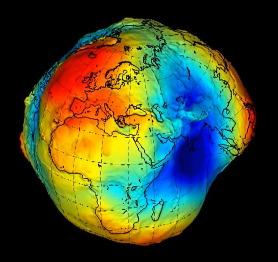 11 равитационное поле Земли шар