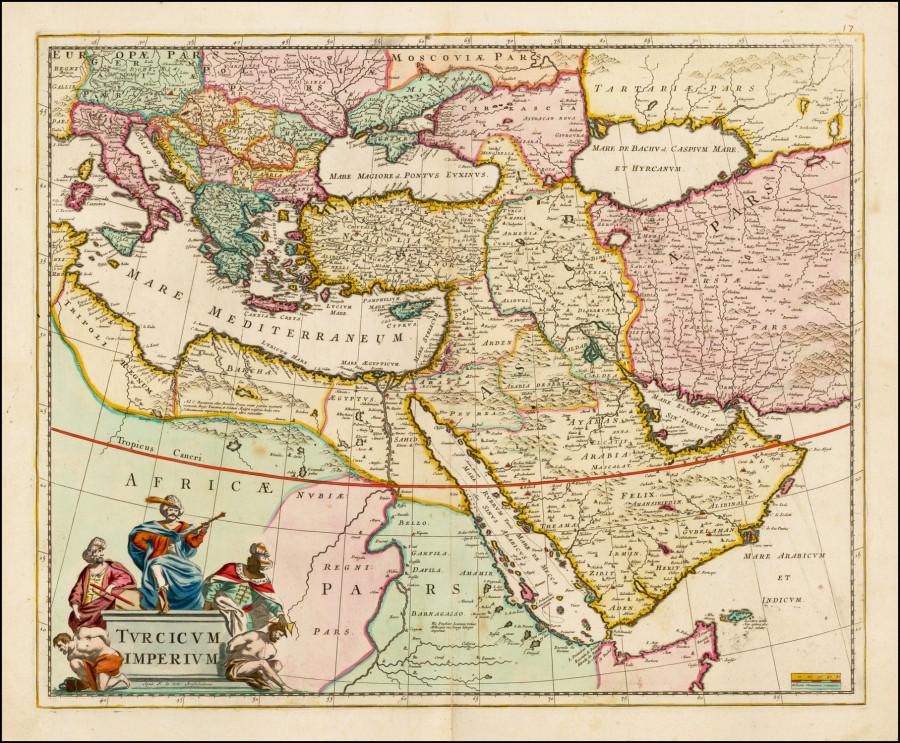 17 Средняя азия старая карта 02