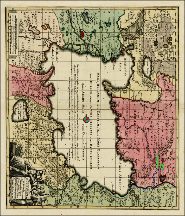 17 Средняя азия старая карта 05а