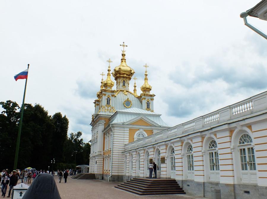 22 Петергоф дворцовая цекровь 01