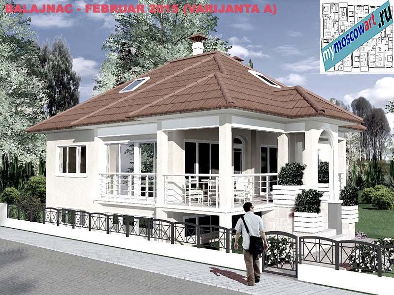 Проект дома - Милан (Деревня Балайнац - Сербия) (10)