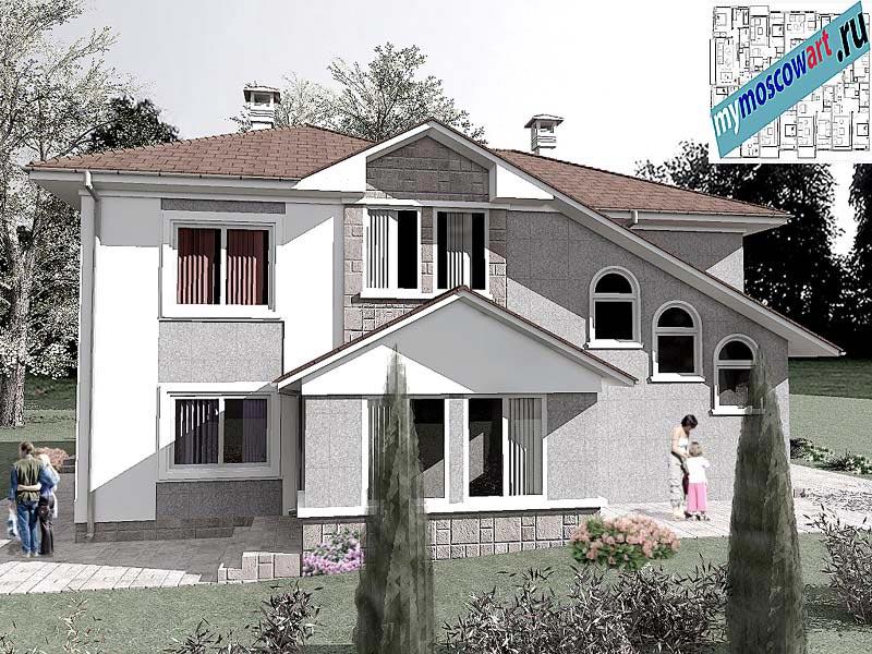 Проект пристройки дома - Виданович (Деревня Деспотовац - Сербия) (4)