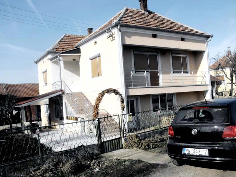 Проект пристройки дома - Виданович (Деревня Деспотовац - Сербия) (8)