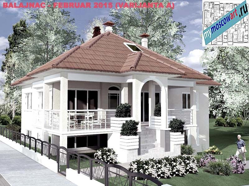 Проект дома - Милан (Деревня Балайнац - Сербия) (11)