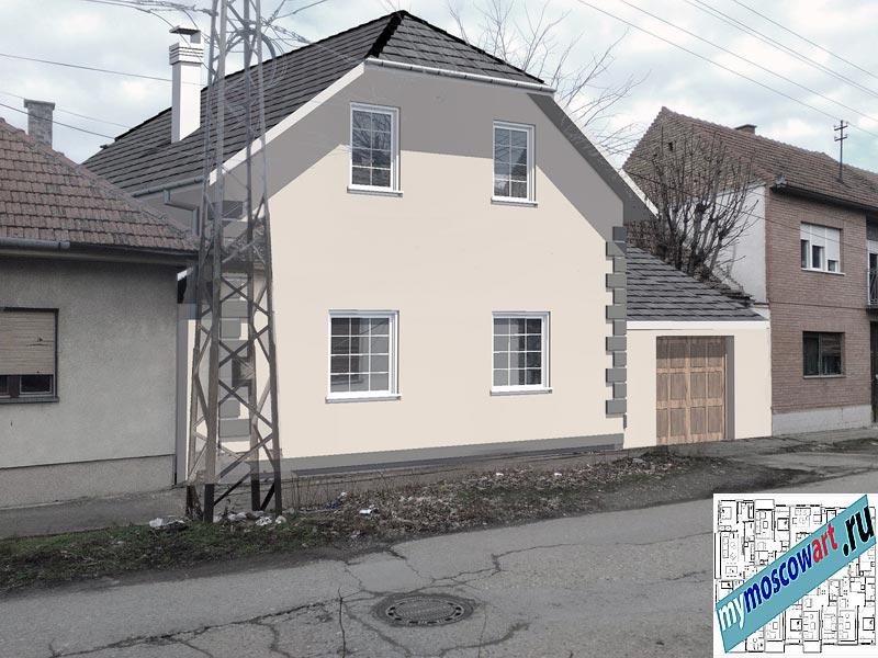 Проект пристройки дома - Йован (Город Вршац - Сербия) (2)