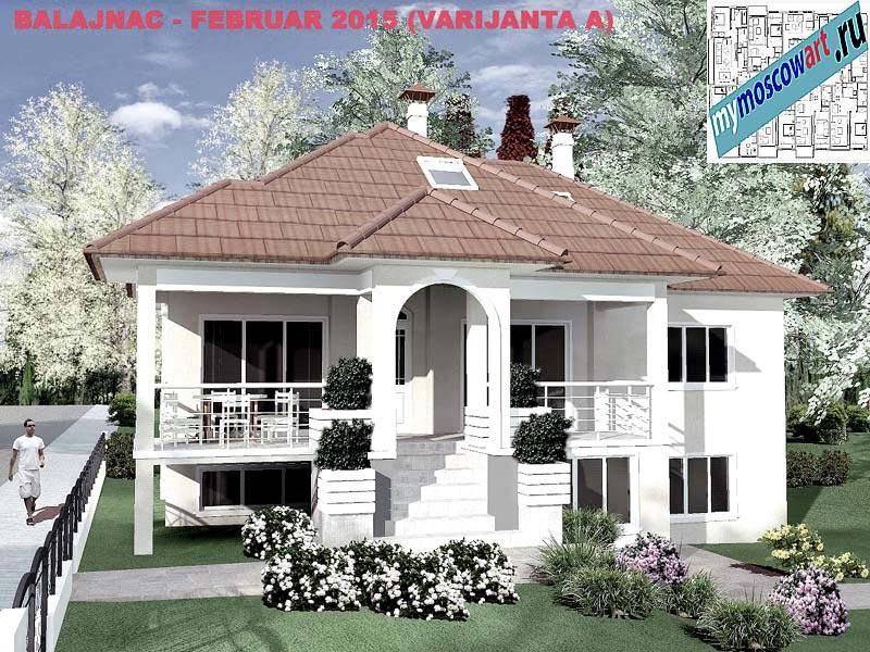 Проект дома - Милан (Деревня Балайнац - Сербия) (12)