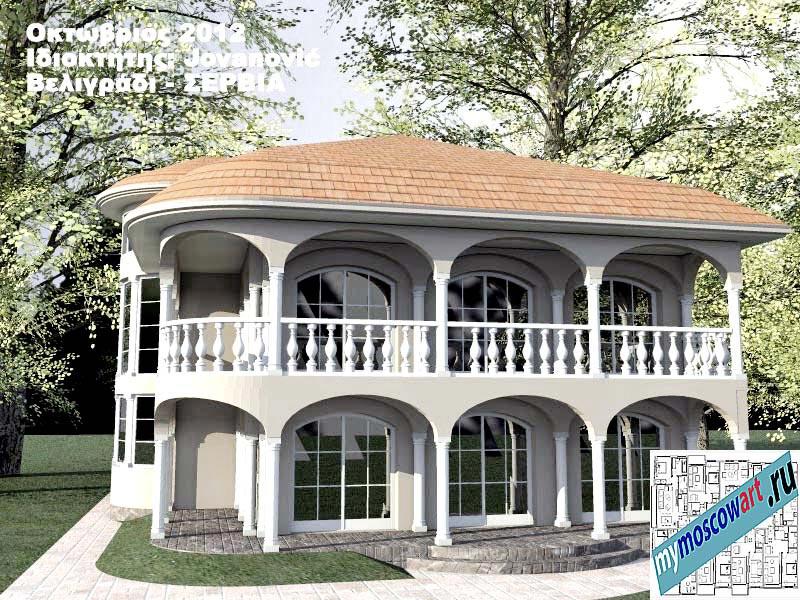 Проект дома - Йованович (Город Белград - Сербия) (5)