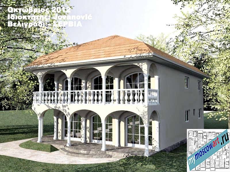 Проект дома - Йованович (Город Белград - Сербия) (6)
