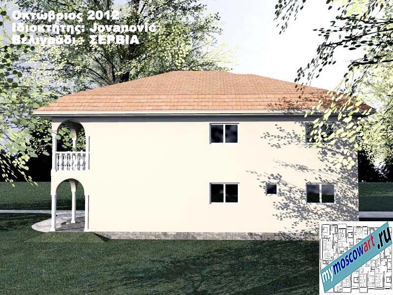 Проект дома - Йованович (Город Белград - Сербия) (7)