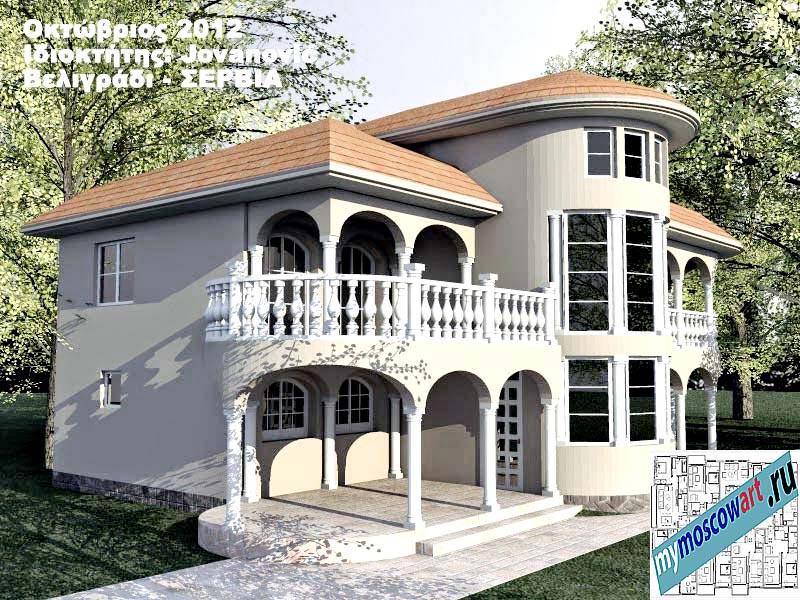 Проект дома - Йованович (Город Белград - Сербия) (9)