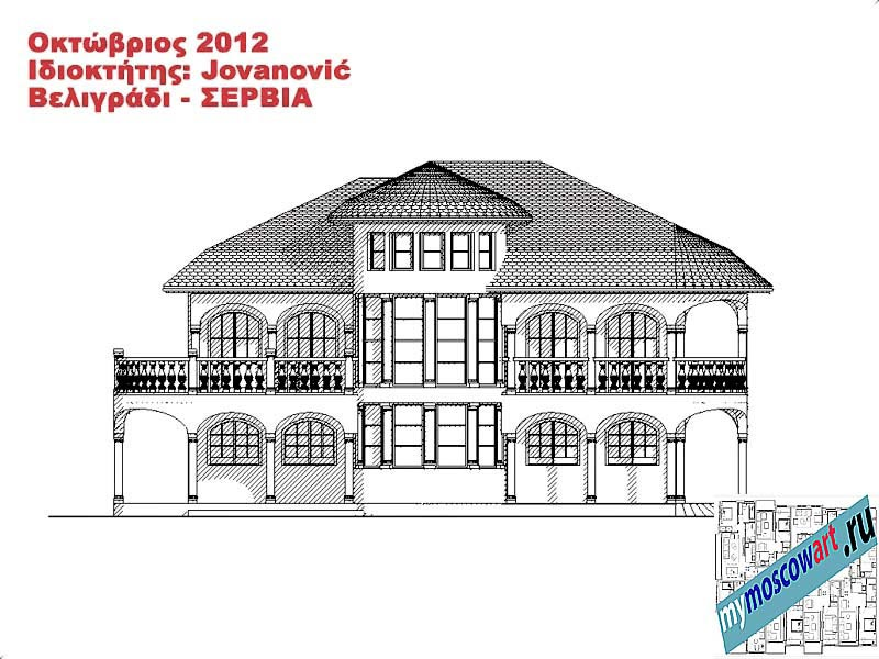 Проект дома - Йованович (Город Белград - Сербия) (11)