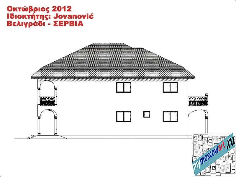 Проект дома - Йованович (Город Белград - Сербия) (13)