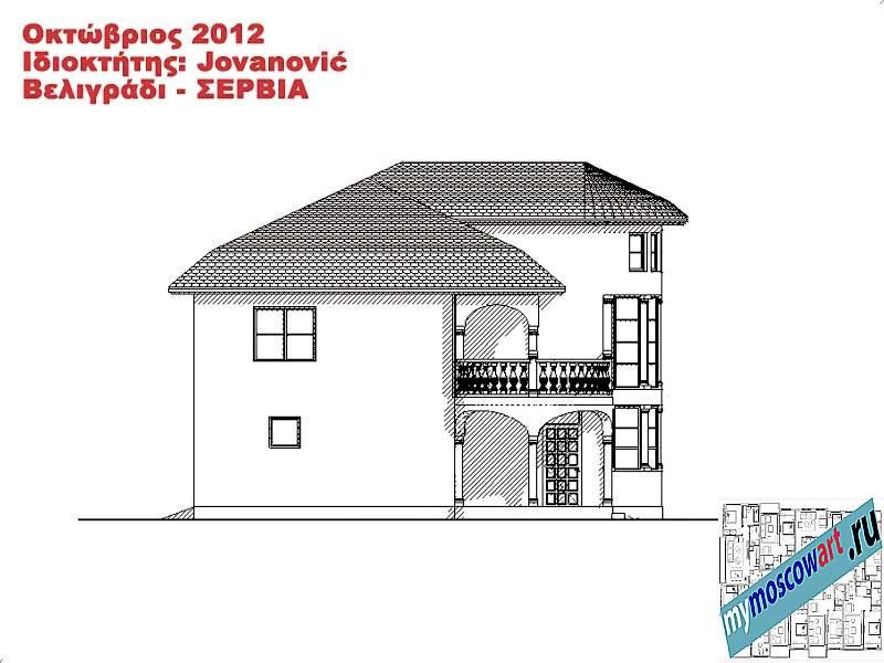Проект дома - Йованович (Город Белград - Сербия) (14)