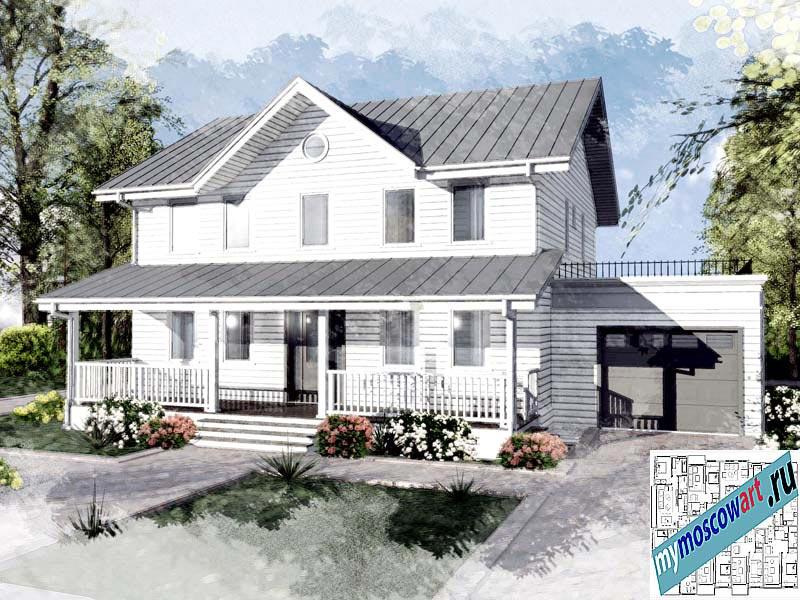 Проект дома - Джон (Город Ванкувер - Канада) (2)