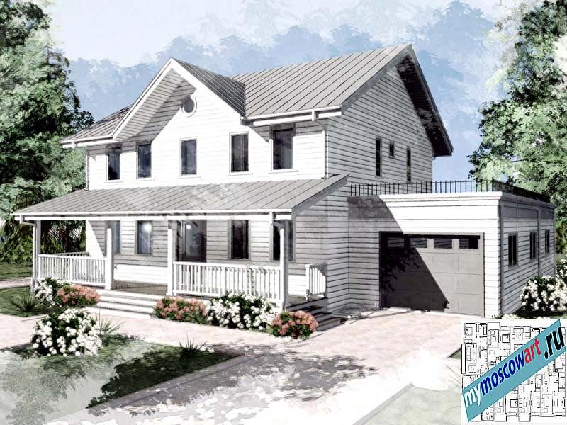 Проект дома - Джон (Город Ванкувер - Канада) (3)