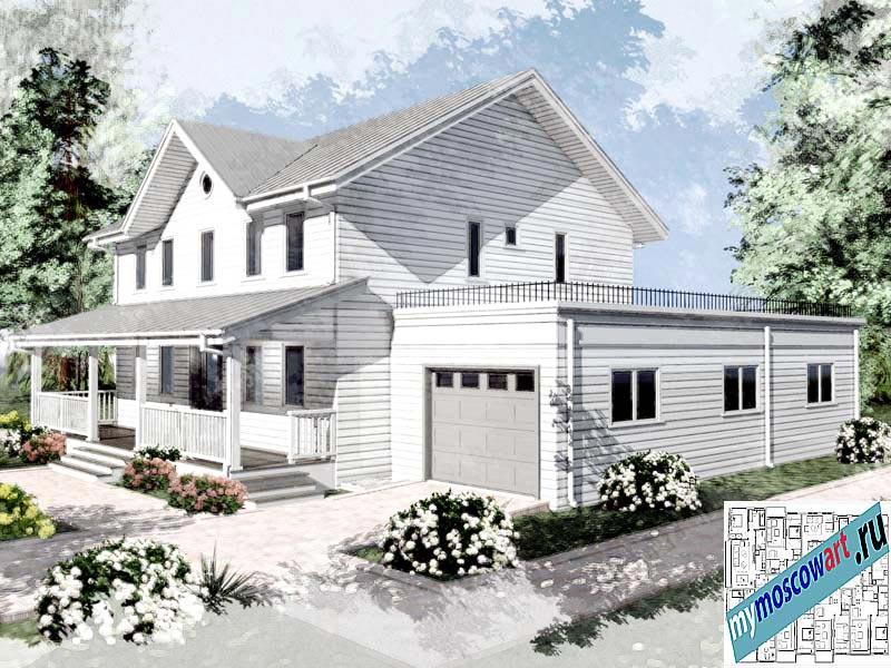 Проект дома - Джон (Город Ванкувер - Канада) (4)