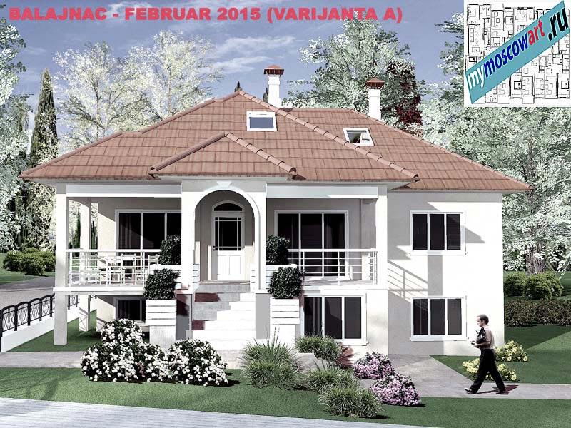 Проект дома - Милан (Деревня Балайнац - Сербия) (13)