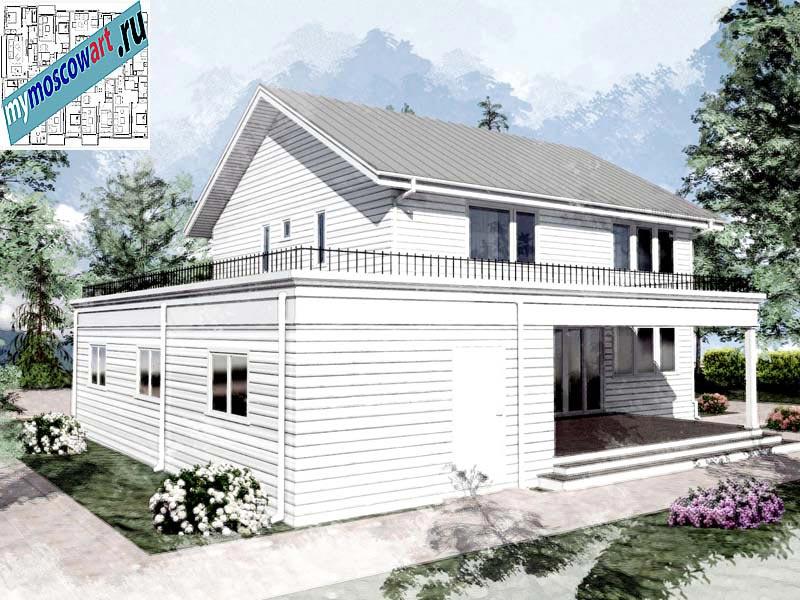 Проект дома - Джон (Город Ванкувер - Канада) (7)