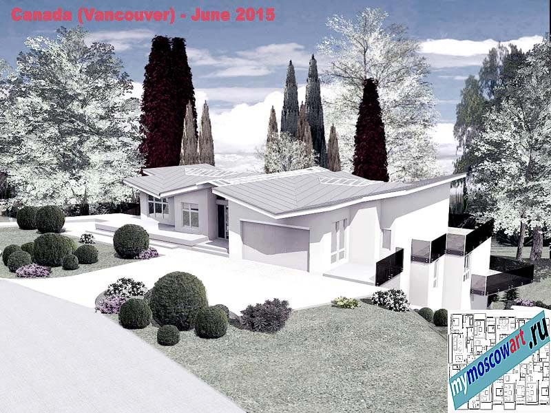Проект виллы - Томас (Город Ванкувер - Канада) (1)