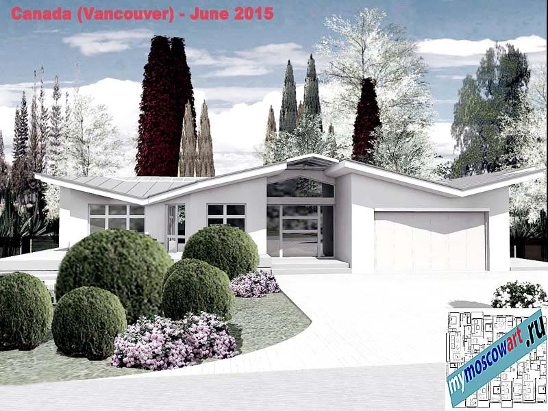 Проект виллы - Томас (Город Ванкувер - Канада) (3)
