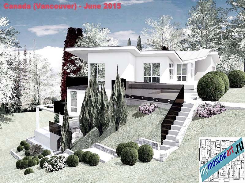 Проект виллы - Томас (Город Ванкувер - Канада) (5)