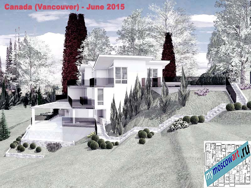 Проект виллы - Томас (Город Ванкувер - Канада) (7)