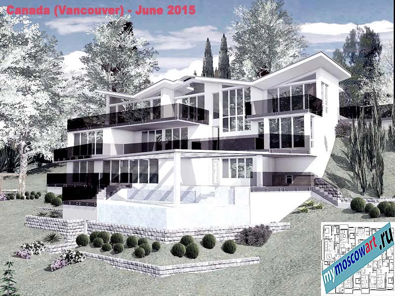 Проект виллы - Томас (Город Ванкувер - Канада) (8)