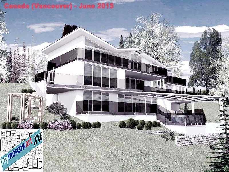 Проект виллы - Томас (Город Ванкувер - Канада) (10)