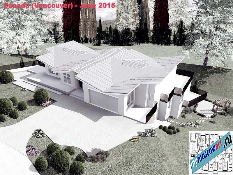 Проект виллы - Томас (Город Ванкувер - Канада) (12)