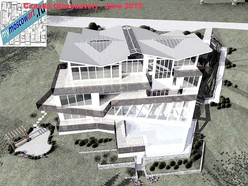 Проект виллы - Томас (Город Ванкувер - Канада) (17)