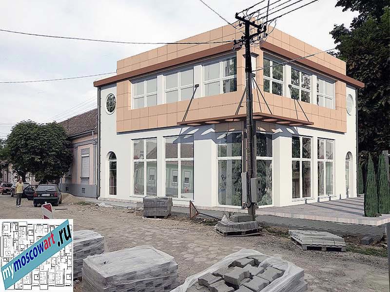 Проект бизнес-жилого дома - Цветкович (Город Вршац - Сербия) (9)