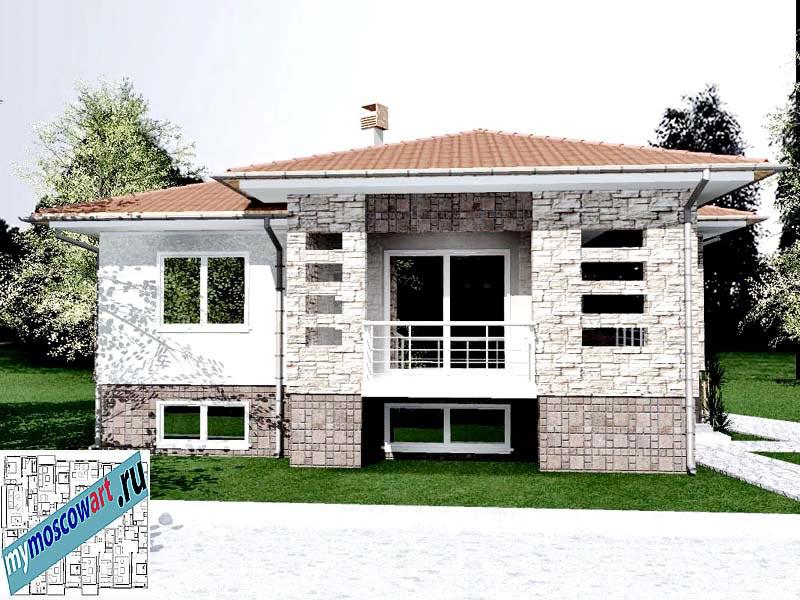 Проект дома - Драган (Деревня Балайнац - Сербия) (1)
