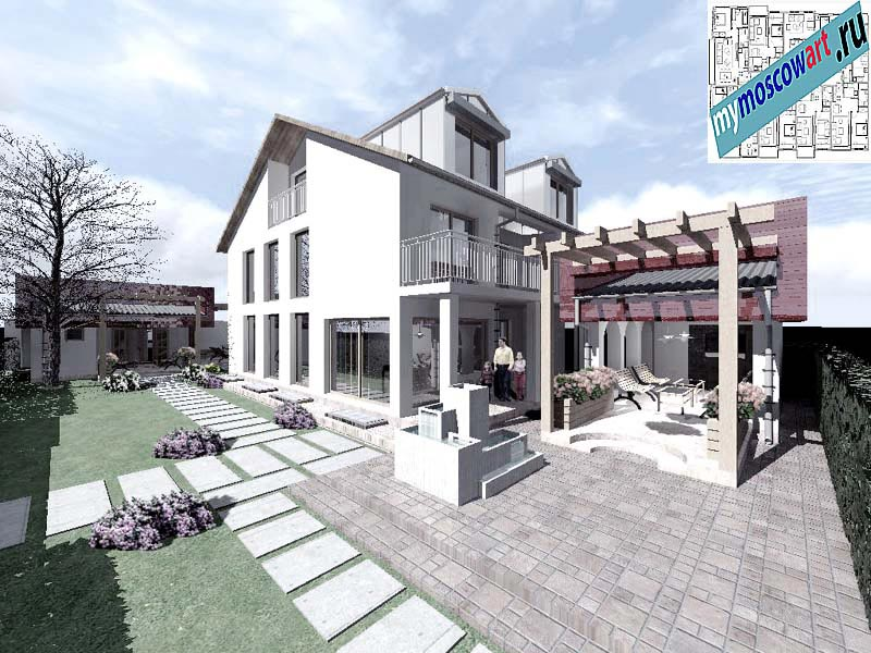 Проект дома - Горан (Город Мюнхен - Германия) (1)