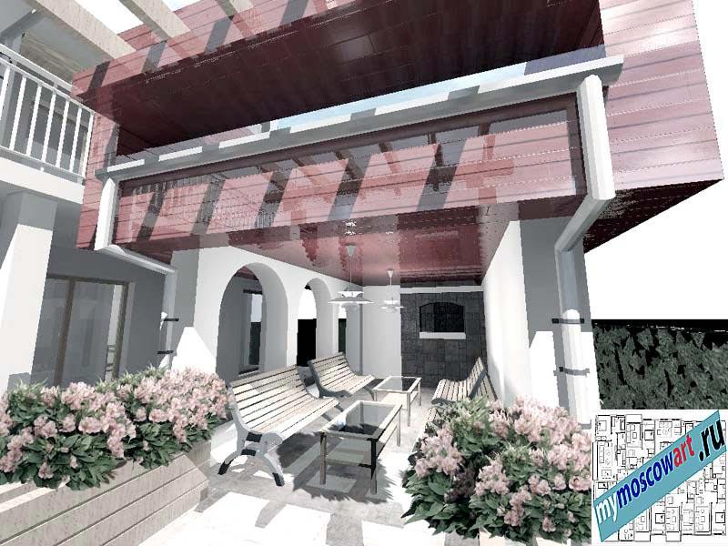 Проект дома - Горан (Город Мюнхен - Германия) (3)
