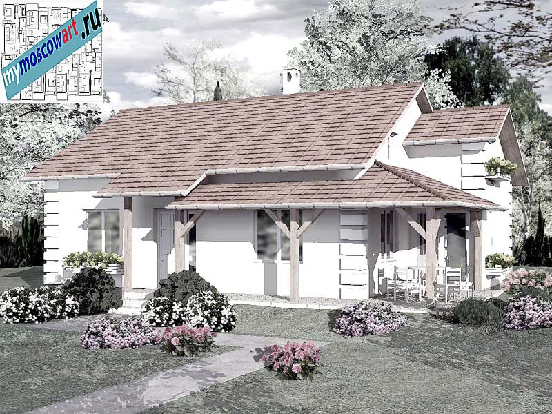 Проект дома - Мирослав (Город Парачин - Сербия) (3)