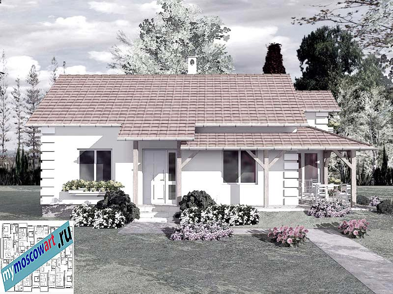 Проект дома - Мирослав (Город Парачин - Сербия) (4)