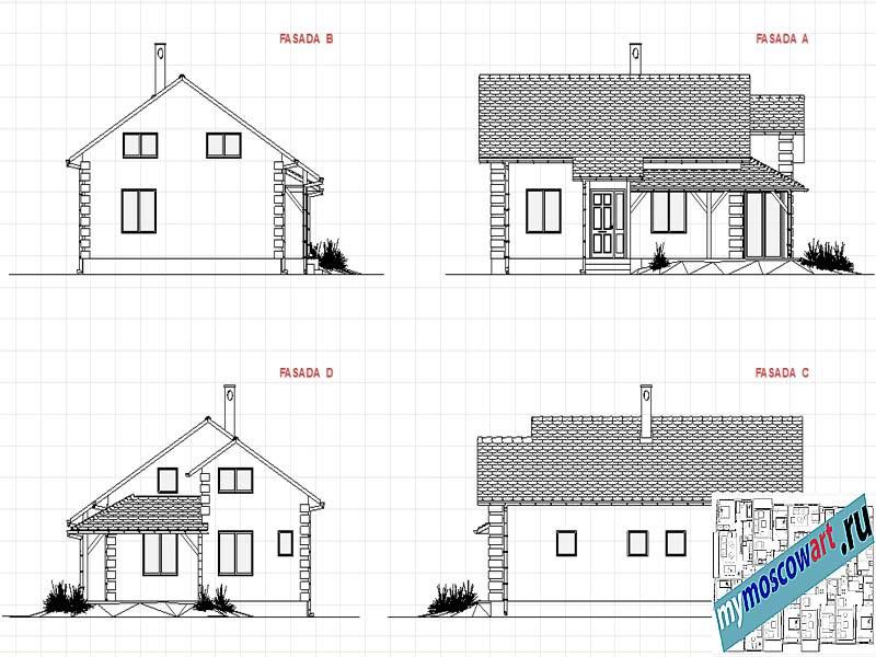 Проект дома - Мирослав (Город Парачин - Сербия) (5)